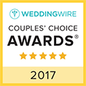 2016 WeddingWire Couples' Choice Award image