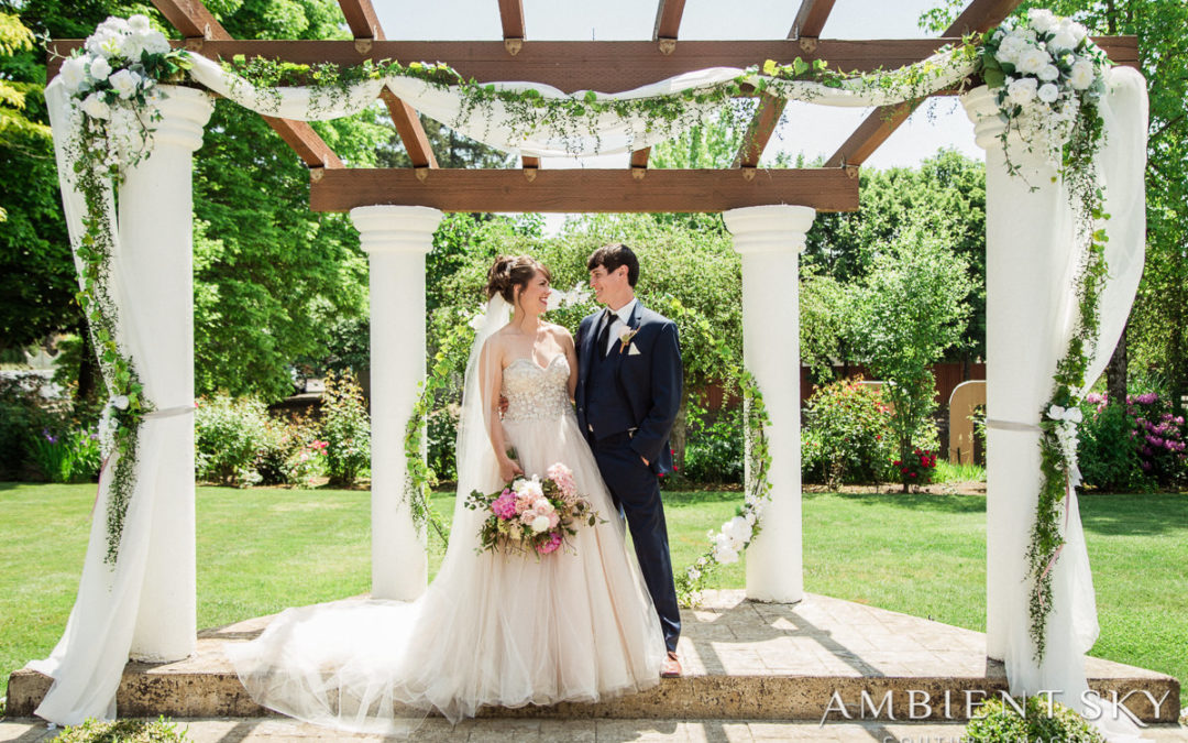Arbor and Pavilion: Styled Shoot
